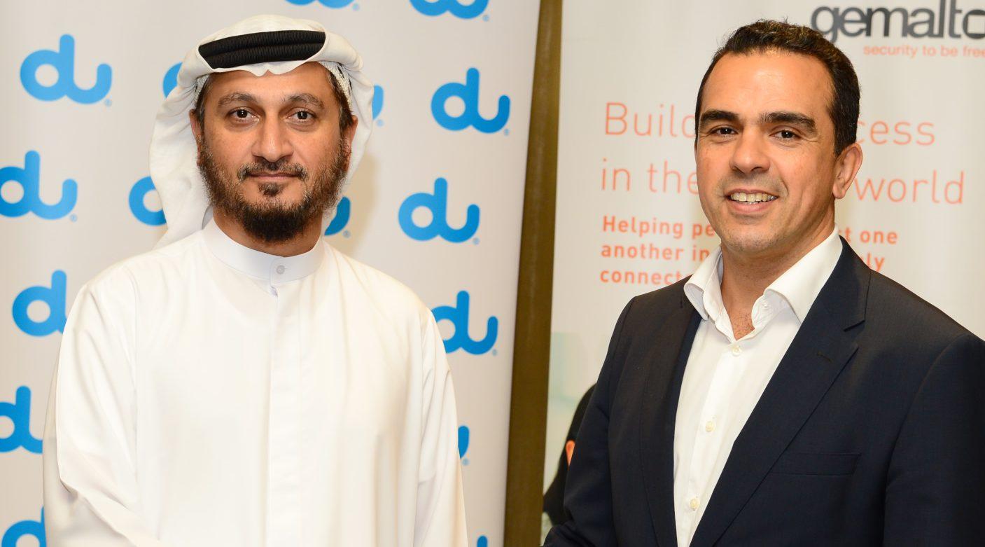 du and Gemalto demonstrate e-SIM