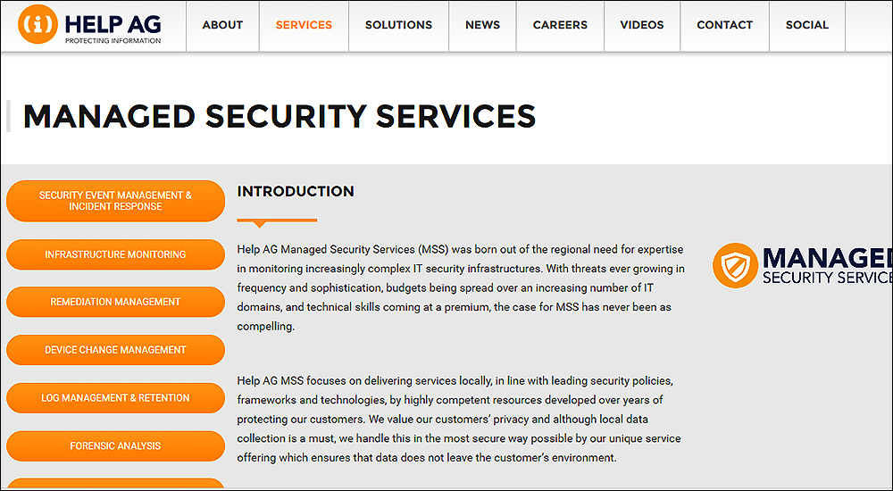 Help AG completes ISO certification for managed security services