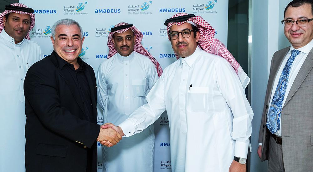Saudi Arabian Al Tayyar Travel Group expands relationship with Amadeus