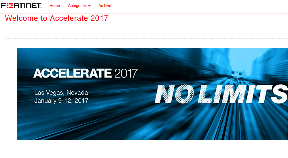 Fortinet recognises Middle East and Africa channel partners at Accelerate 2017
