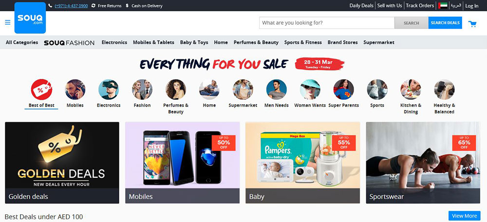 Amazon to acquire SOUQ.com