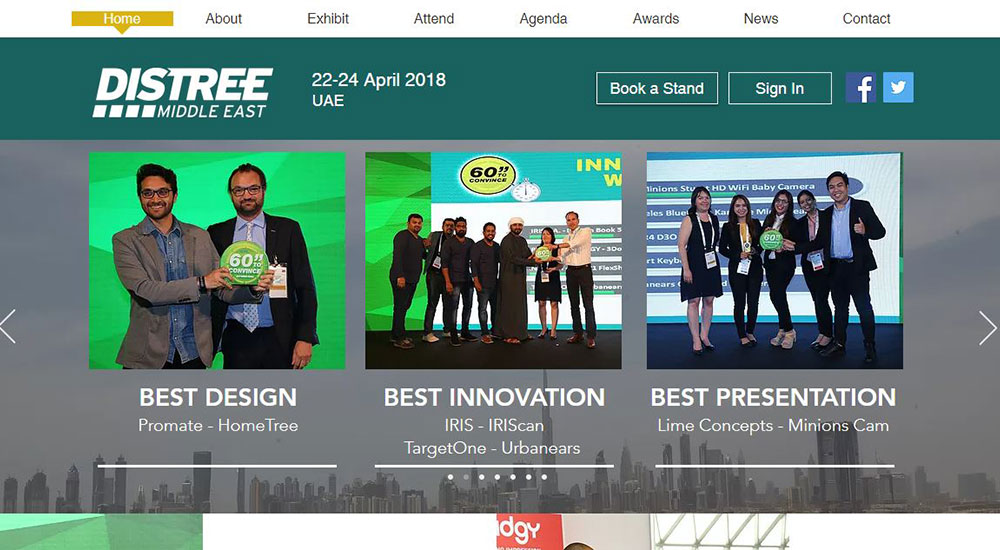 DISTREE Middle East 2018 consumer tech channel event scheduled for 22-24 April in UAE