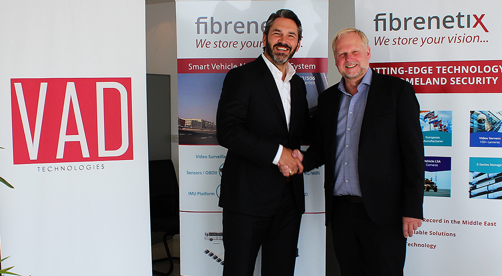 Fibrenetix signs on VAD Technologies as distributor in Middle East
