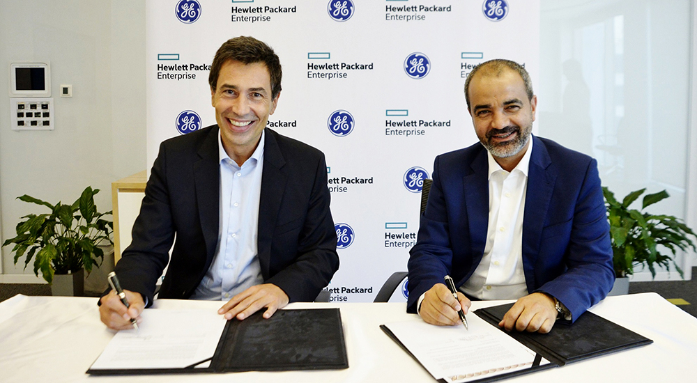 GE Digital and HPE sign three year regional go to market agreement