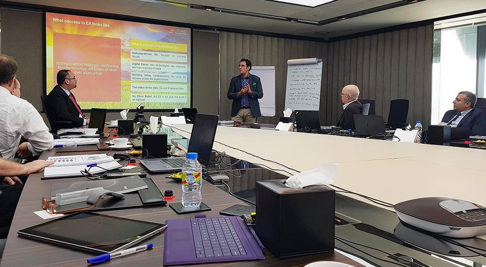 AW Rostamani Shift Technologies completes EA workshop for Dar Group
