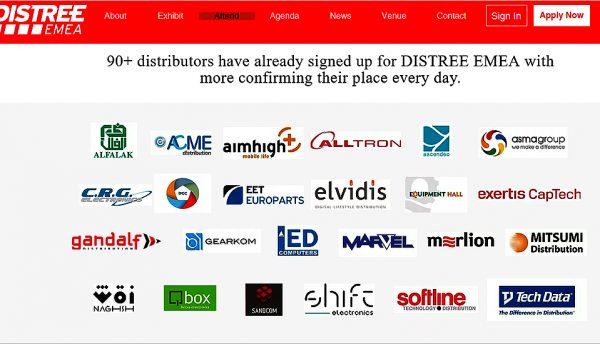 Distributors Asma, Acme, Mitsumi, Shift, Al Falak, register for Distree EMEA