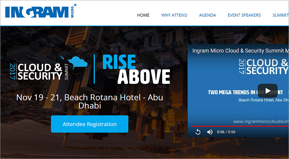 Ingram Micro to host Cloud and Security Summit 2017 in Abu Dhabi