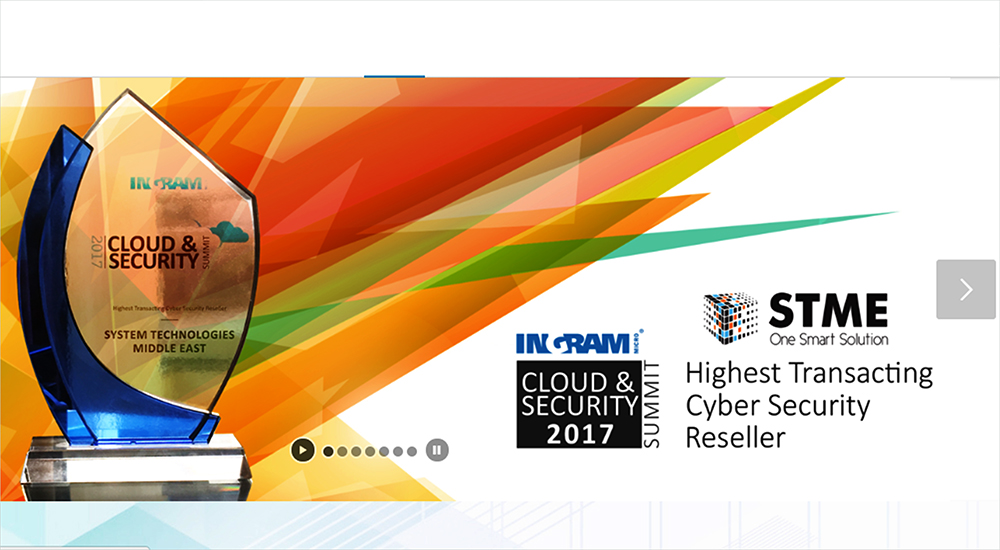 Ingram Micro recognises channel partner STME for Cyber Security Award 2017