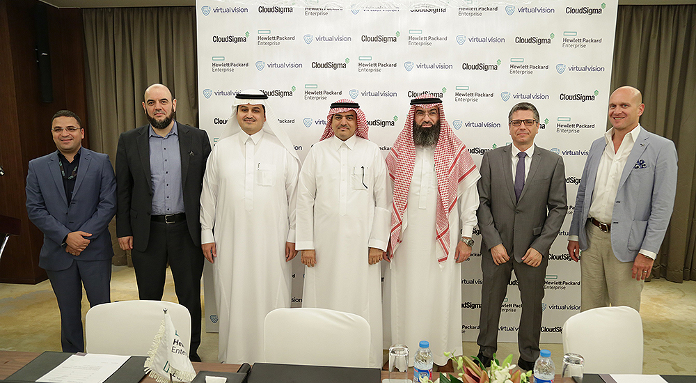 Virtual Vision partners with CloudSigma, HPE to launch cloud in Saudi Arabia
