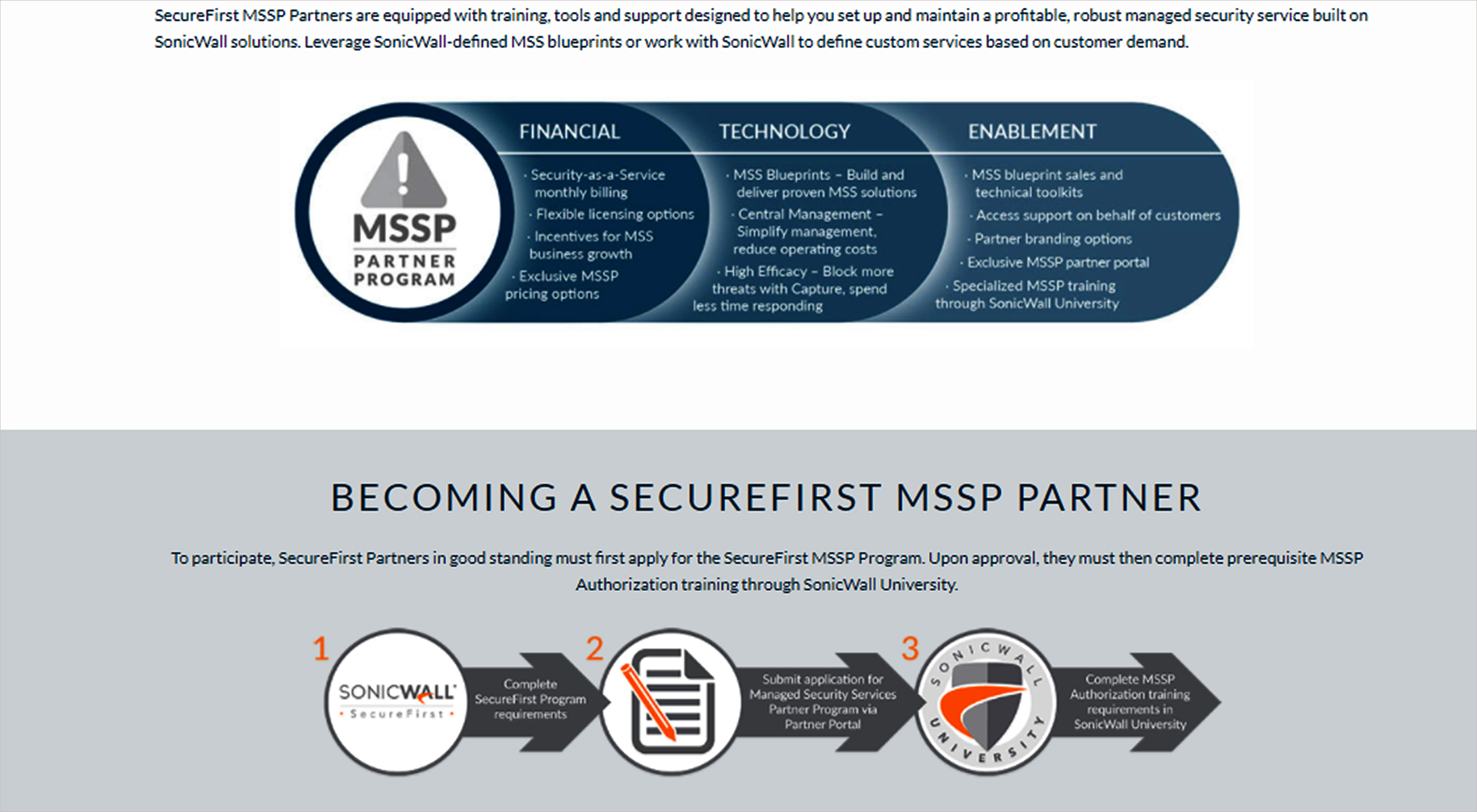 Sonicwall launches new securefirst managed security services sonicwall launches new securefirst managed security services partner programme malvernweather Images