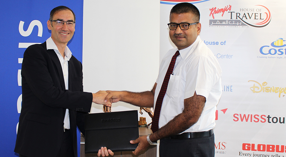 Oman's Khimji's House of Travel expands technology partnership with Amadeus