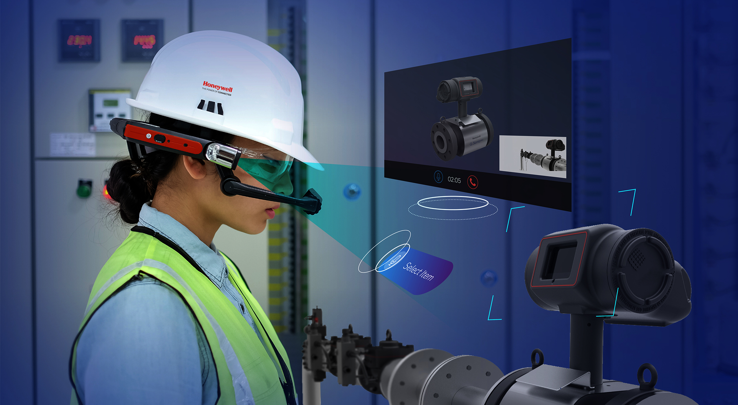 Honeywell launches intelligent heads-up display with voice augmented reality