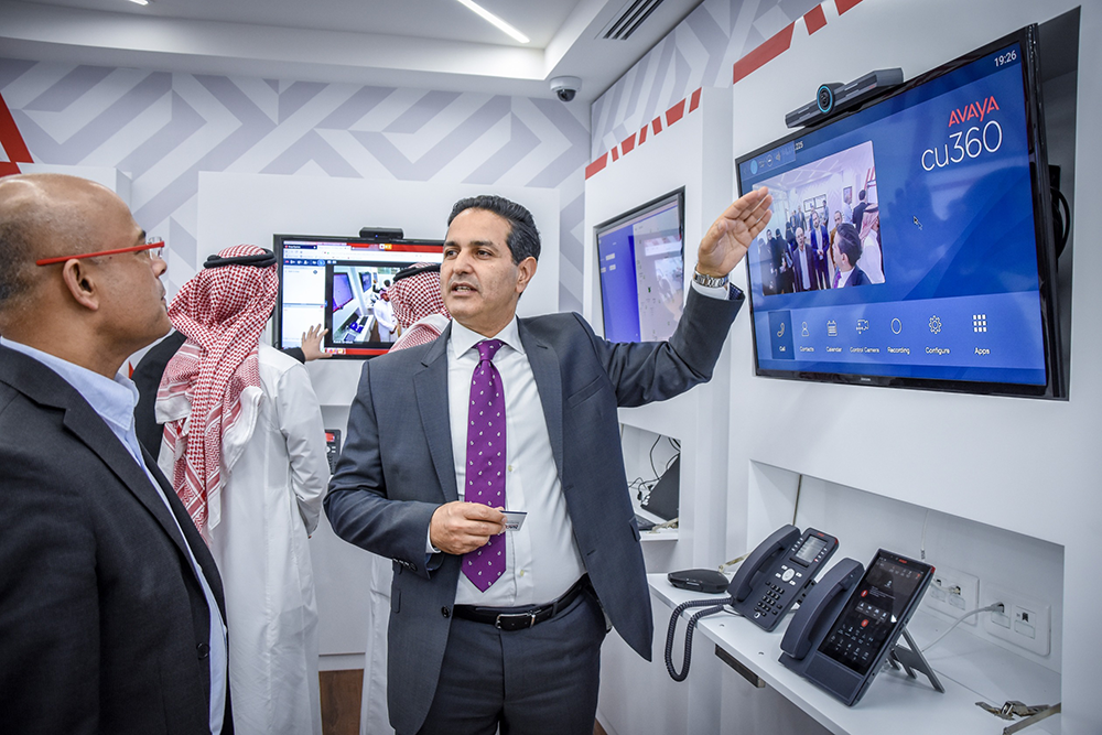 Avaya opens customer experience centre in Saudi Arabia