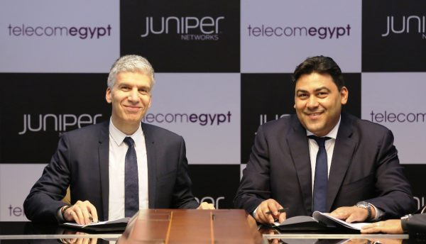 Telecom Egypt and Juniper Networks to build network for residential and businesses