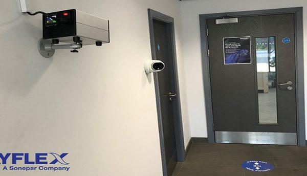 Mayflex installs thermal cameras at its head office